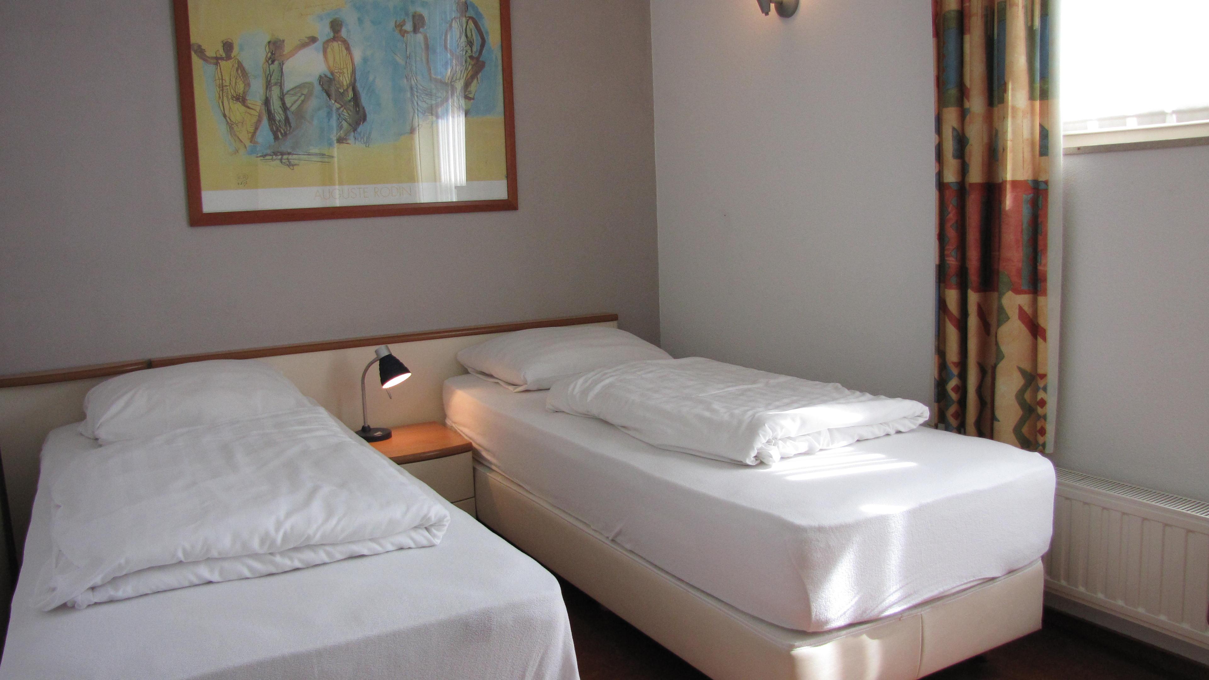 Slaapkamer losse bedden - Parc de Witte Vennen