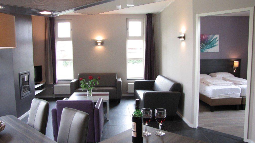 Slaapkamer In Woonkamer : Woonkamer slaapkamer groot parc de witte vennen